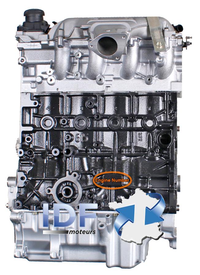 moteur change standard peugeot peugeot 2 2 hdi 16v 4hw 4wx m00419 idf moteurs. Black Bedroom Furniture Sets. Home Design Ideas